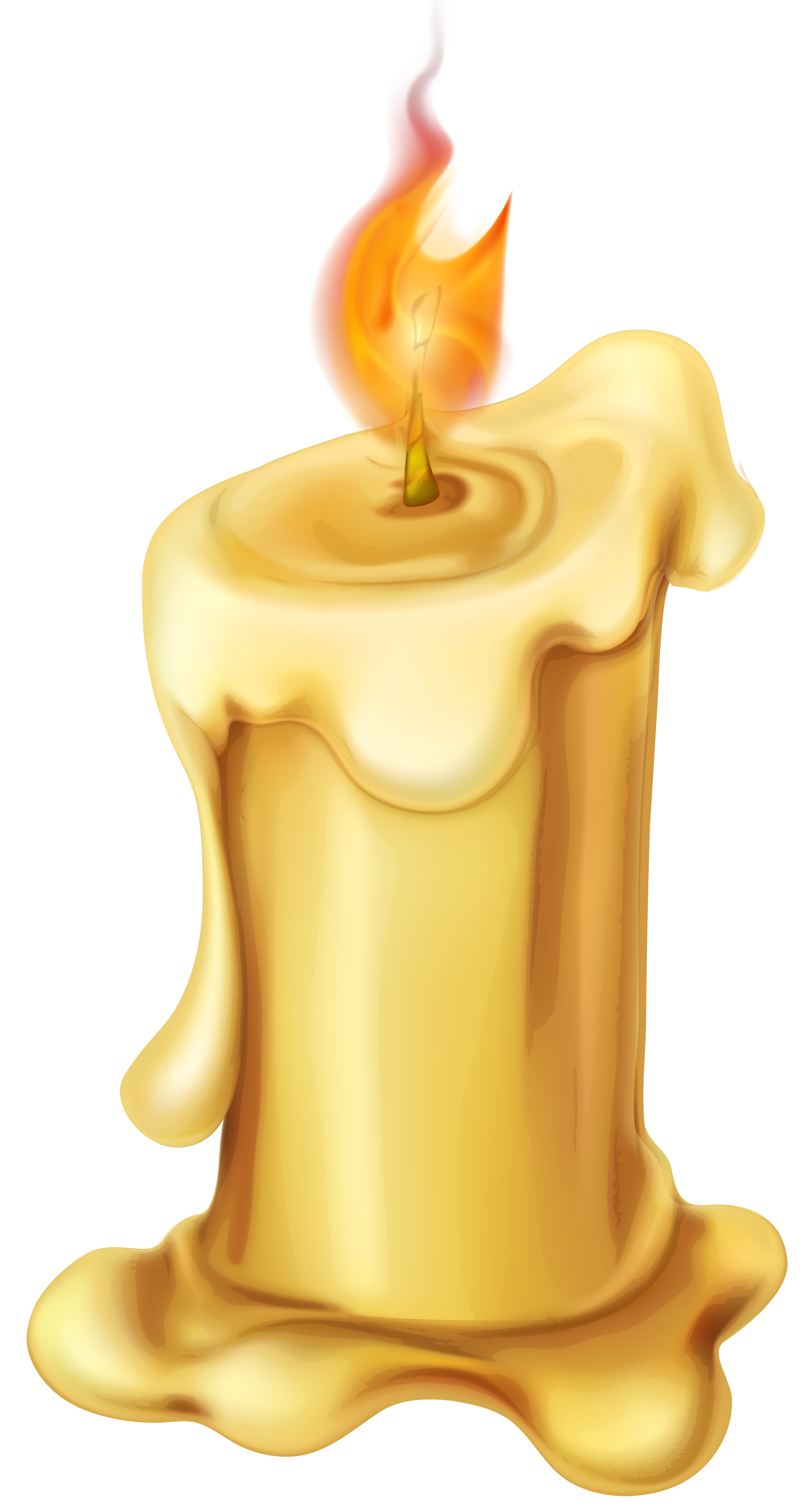 jpg library stock Melting wax free on. Clock clipart candle.