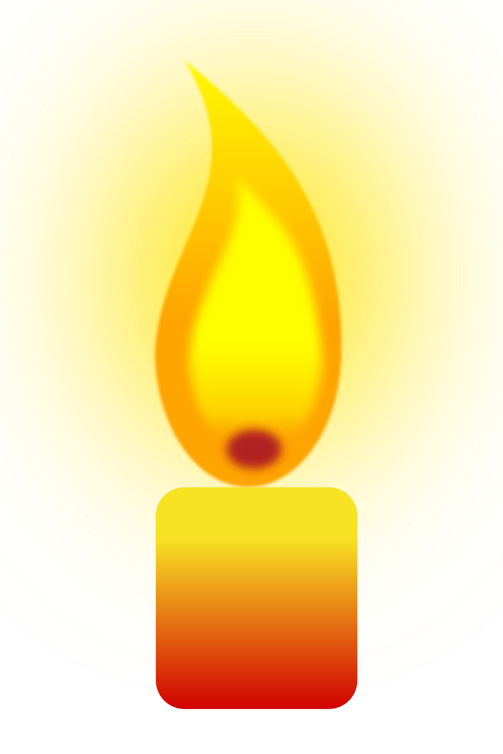png free stock Transparent candle translucent. Clipart burning big image