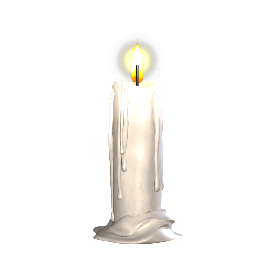 banner transparent Png images stickpng single. Transparent candle