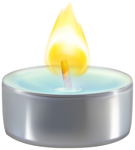 vector Candles clipart candle light. Tealight png clip art.