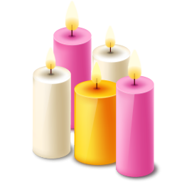 picture transparent stock Five scented icon png. Candles clipart jar candle.