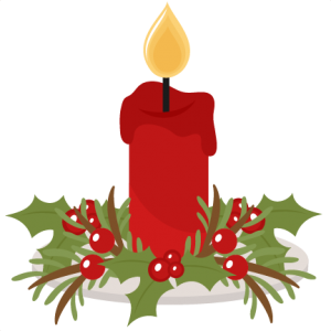 banner royalty free library Christmas candle silhouette at. Candles clipart old fashioned.