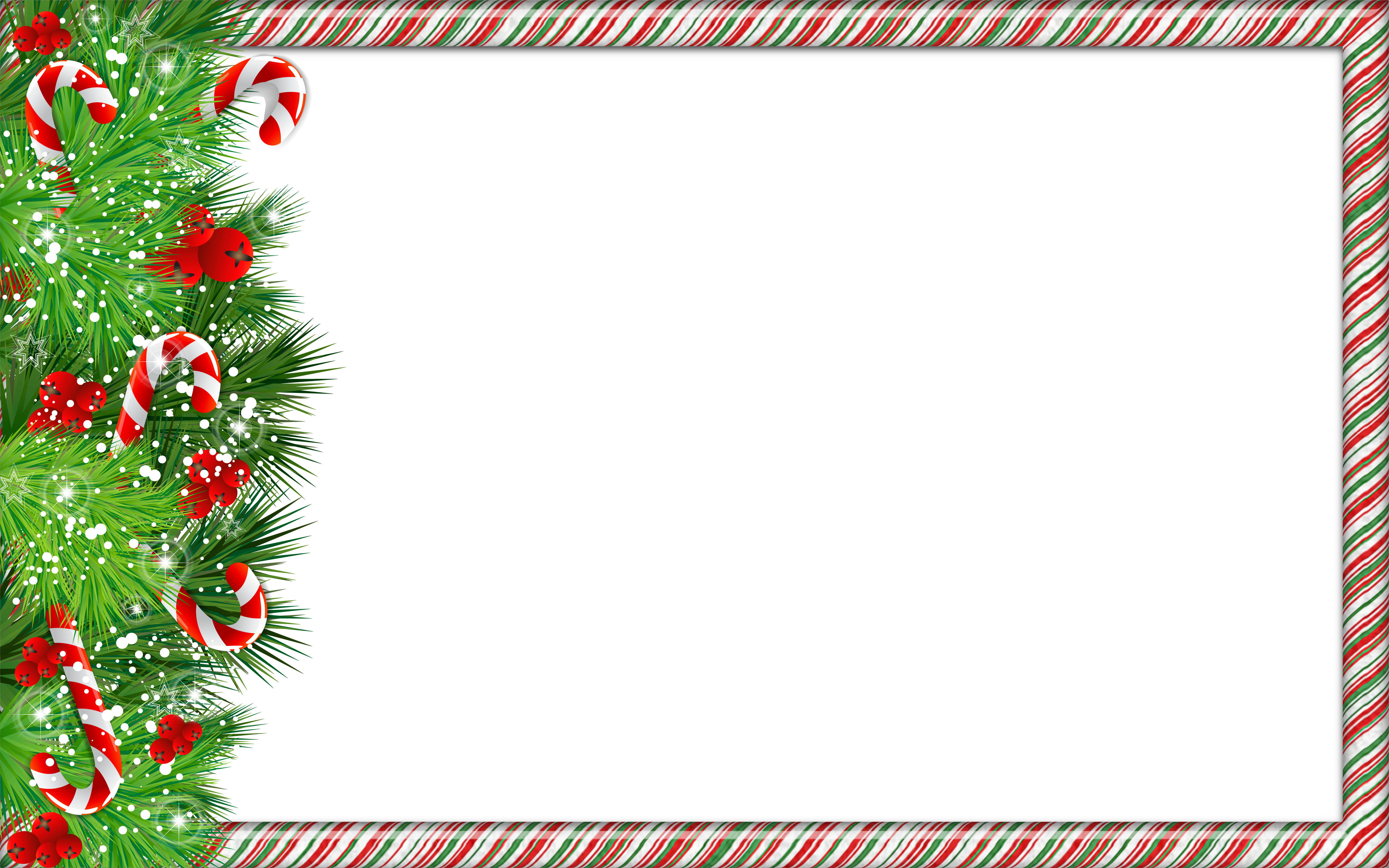 svg transparent Vector candy frame. Christmas png photo with