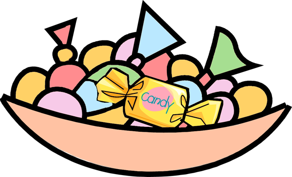 clipart free bowl of candy clipart #59896661