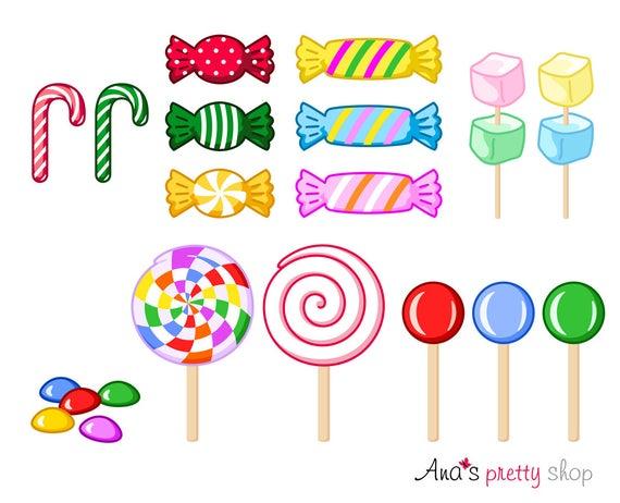 clipart transparent download Sweet lollipops marshmallow bonbons. Candy clipart