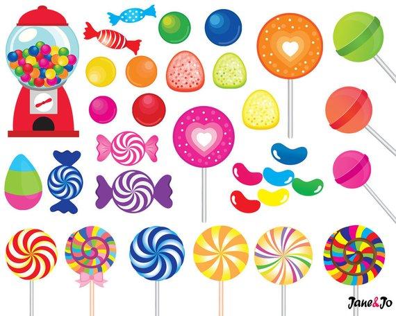image transparent  clip art printable. Candy clipart