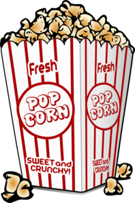 picture free library Clip art pinterest and. Candy clipart popcorn.
