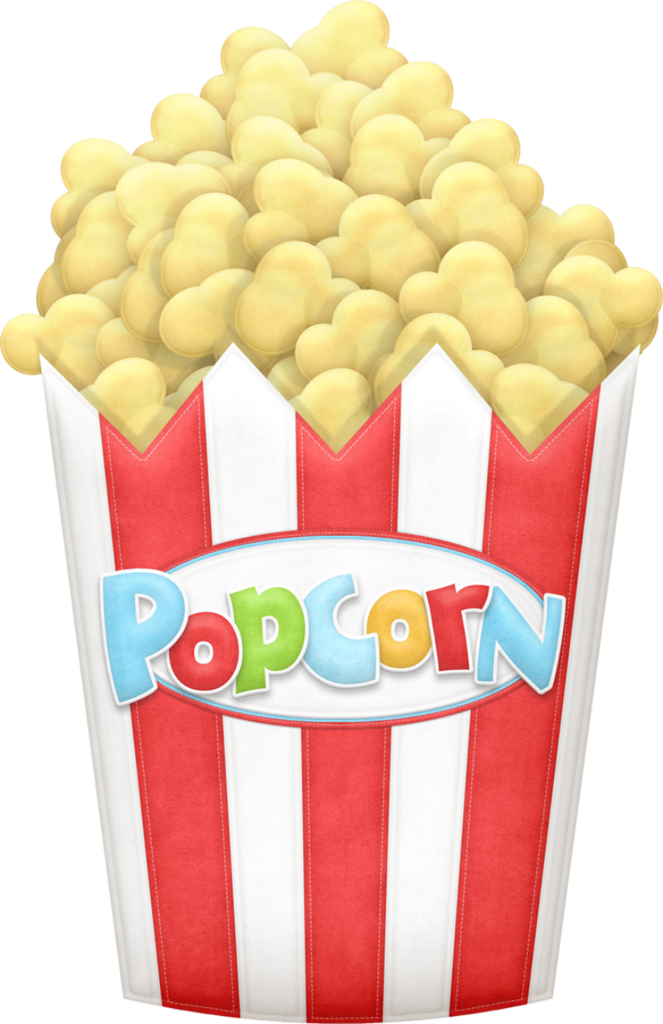 banner Candy clipart popcorn. Button png big top.