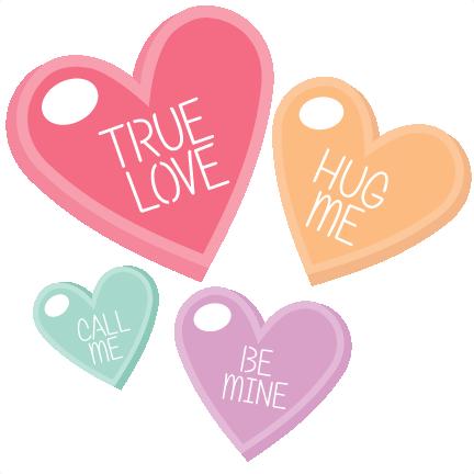 png free download Scrapbook clip art valentiens. Candy hearts clipart.