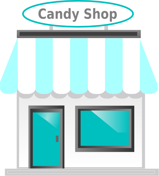 jpg free Vector candy shop. Front clip art at
