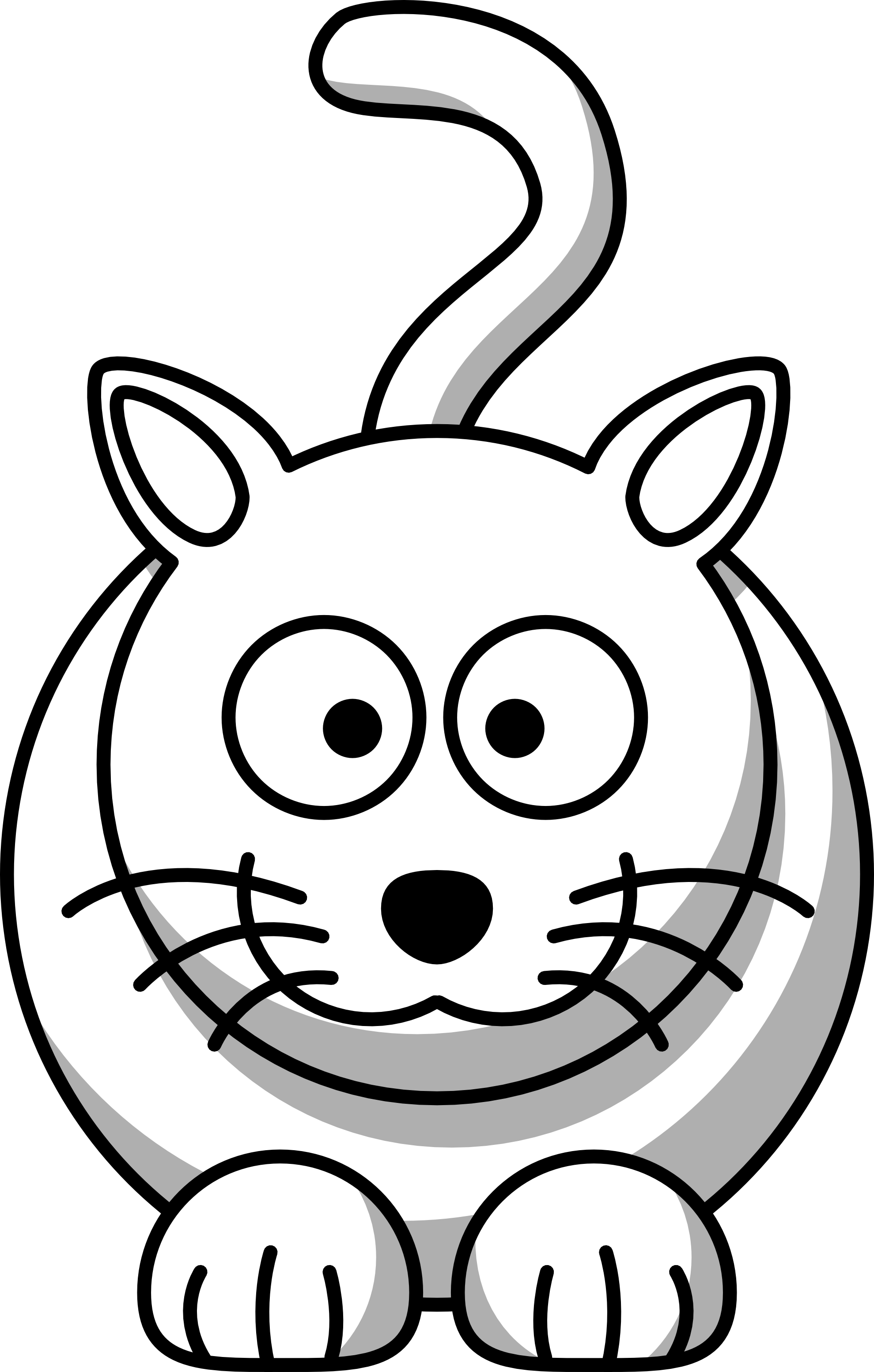 png freeuse stock Picture of cartoon animals. Candyland clipart black and white.