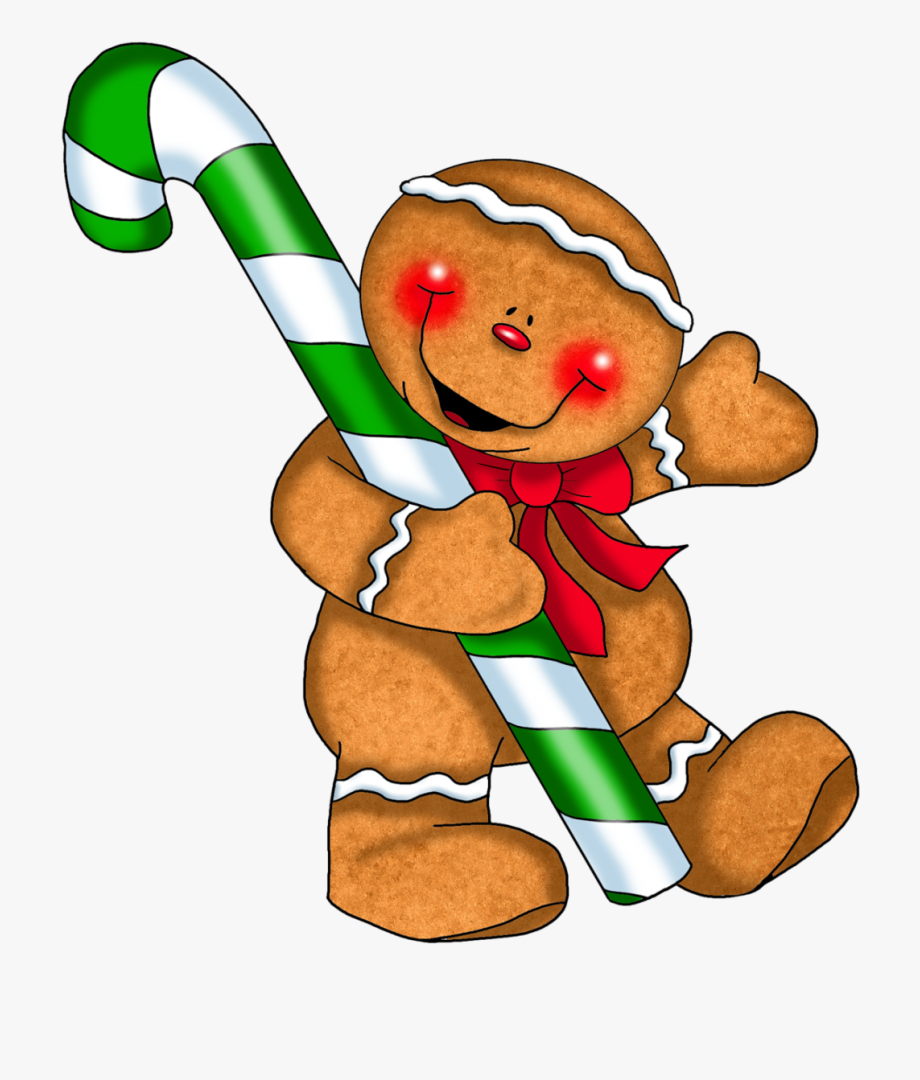graphic library Free christmas borders printable. Cane clipart gingerbread candy.