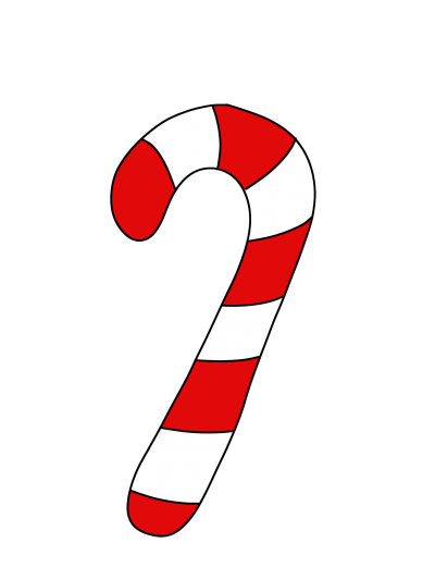 picture black and white Cane clipart peppermint stick. Candy clipartaz free collection.