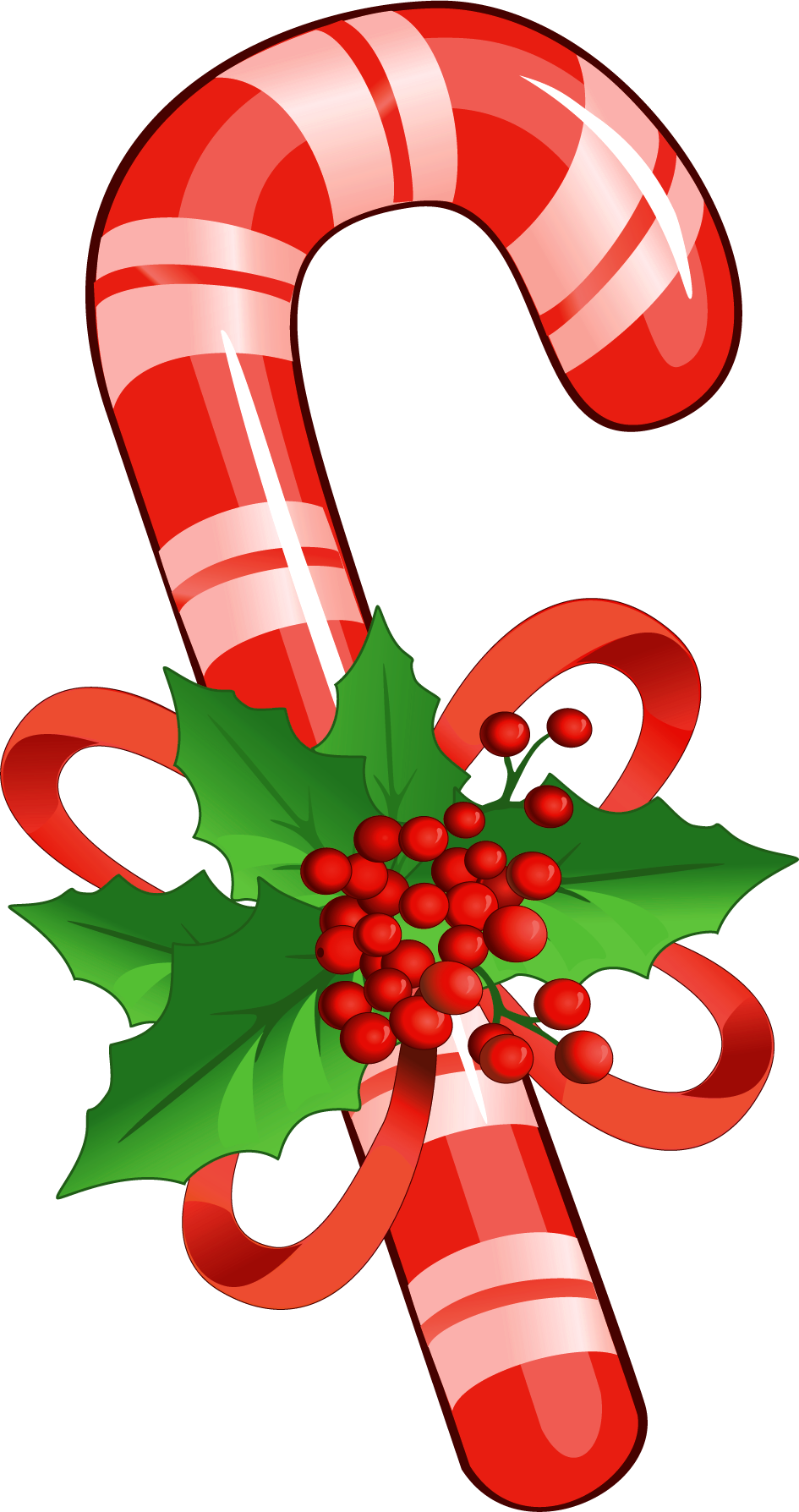 graphic black and white library Christmas Peppermint Sticks Clipart