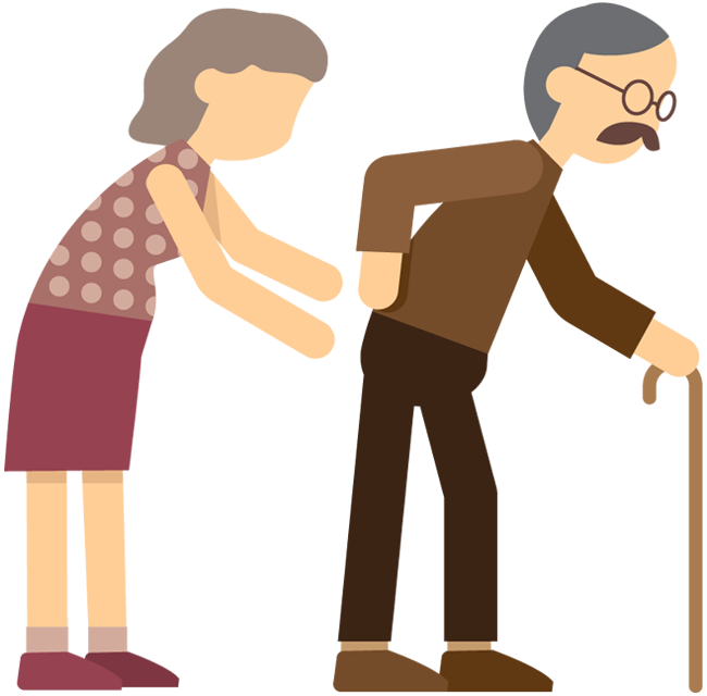 clip art stock Cane clipart simple walking. Cartoon pictures of people.