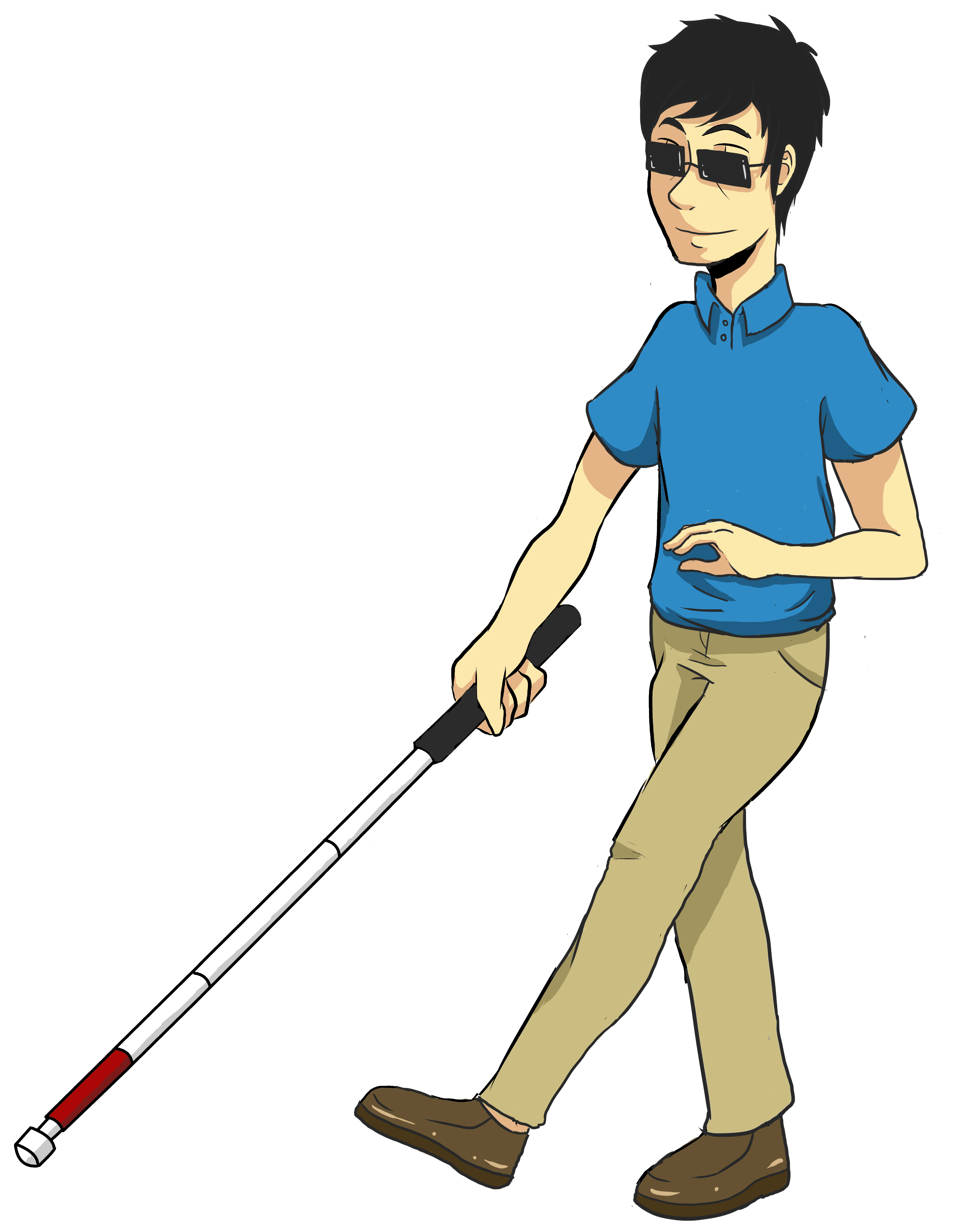svg freeuse We call this a. Walking stick clipart.