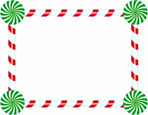 transparent download Canes clipart vector. Candy cane frame free.