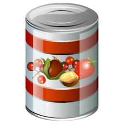 banner royalty free download Canned clipart. Fruit