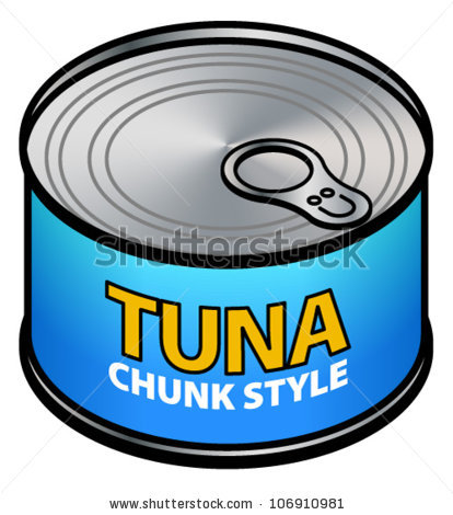 clip art black and white Tuna free download best. Canned clipart canned fish.