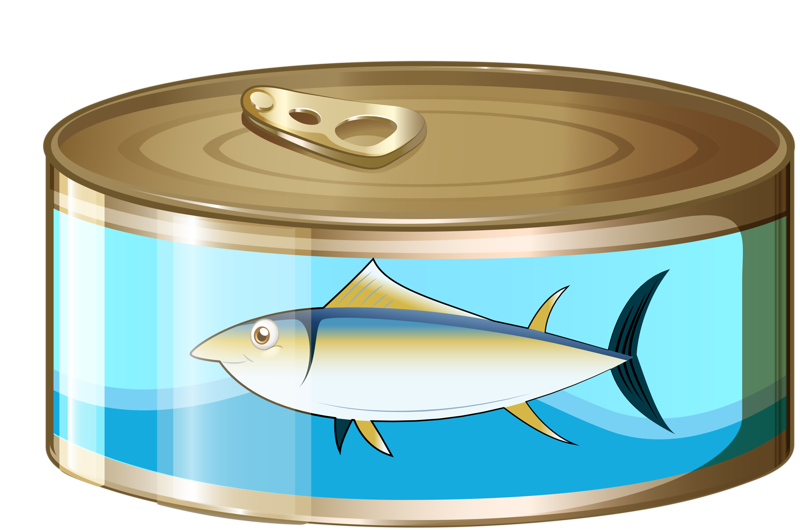 graphic free Tuna can stock photo. Canned clipart canned fish.