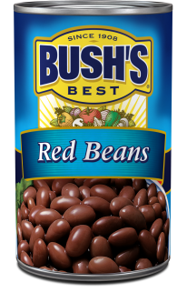 svg freeuse library Red beans bush s. Canned clipart cooked bean.