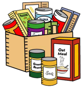 banner library stock Canned clipart food drive.  collection of high.