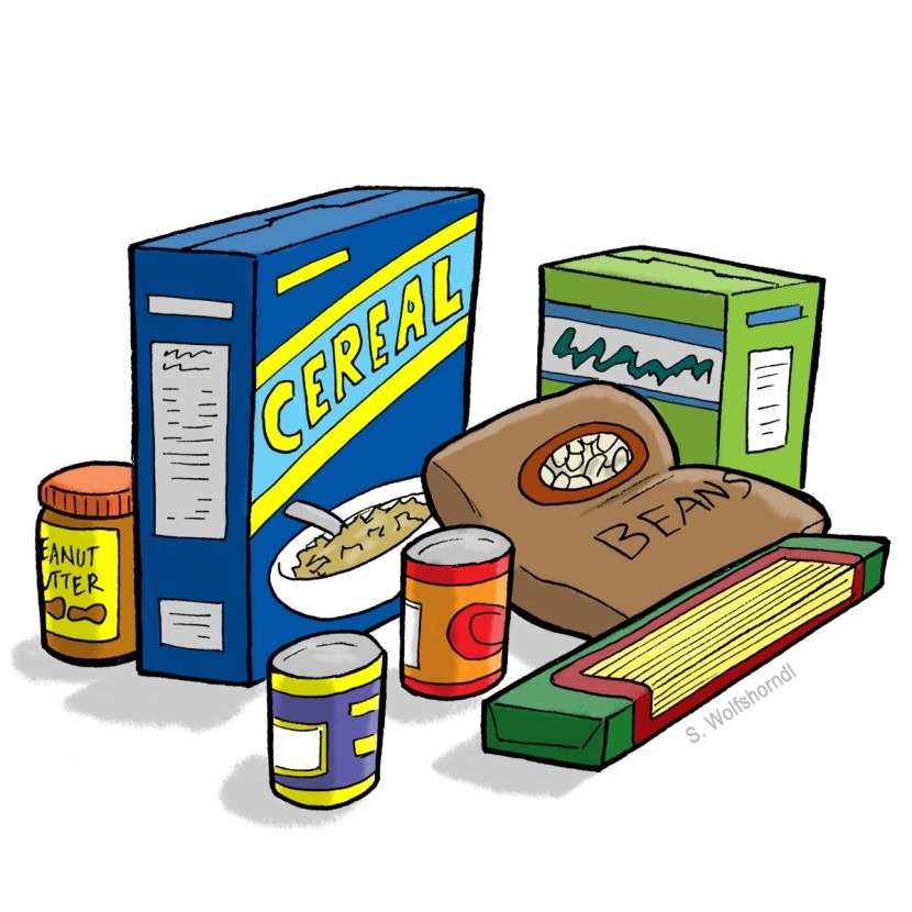 clip art freeuse stock Drive clip art clipartbarn. Canned clipart staple food.