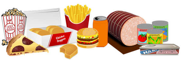 clipart Canned clipart staple food. How to eliminate sugar.