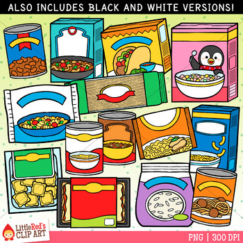 picture library download Canned clipart staple food. Meal kits clip art.