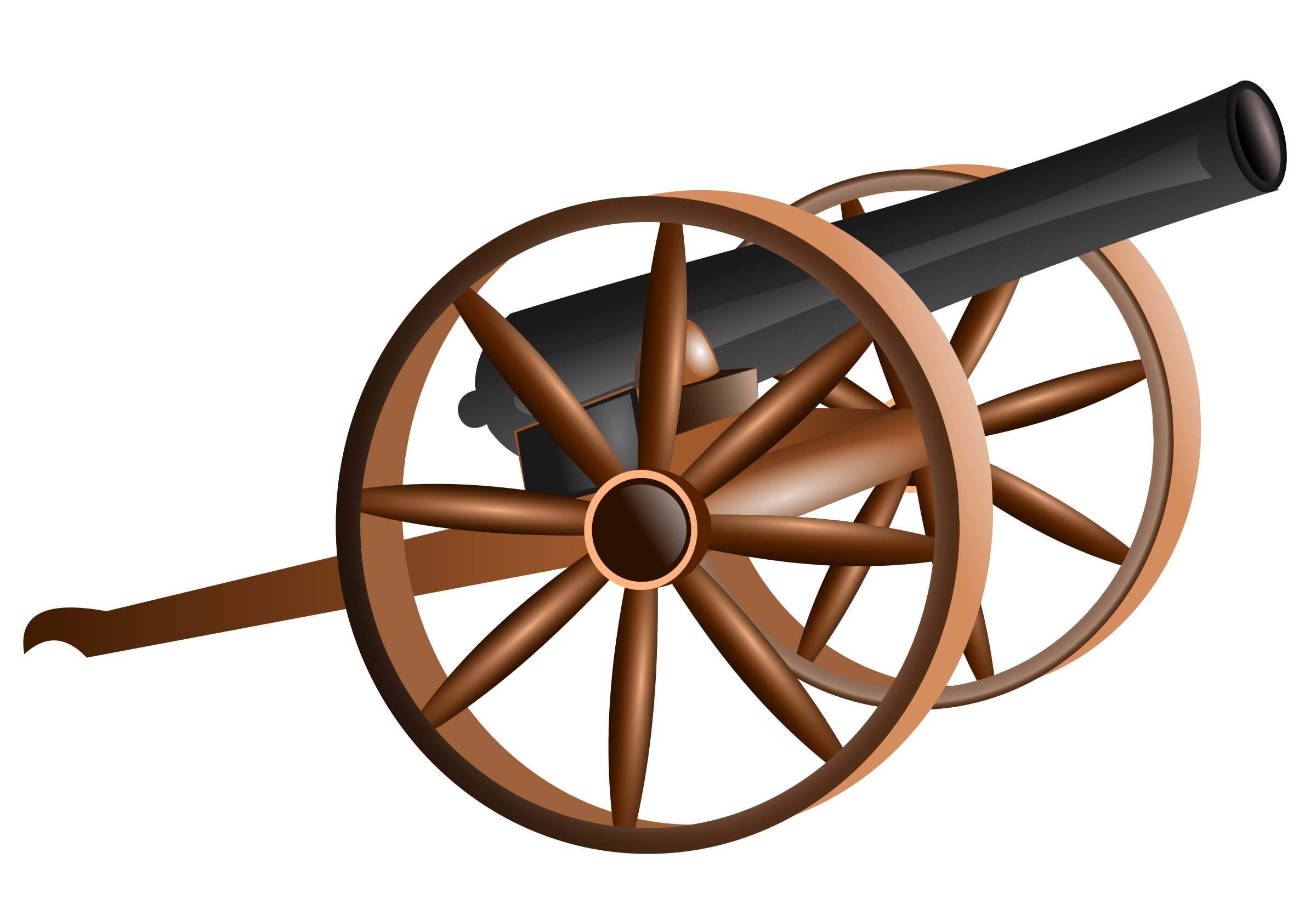 svg stock Cannon clipart artillery. Old free on dumielauxepices.