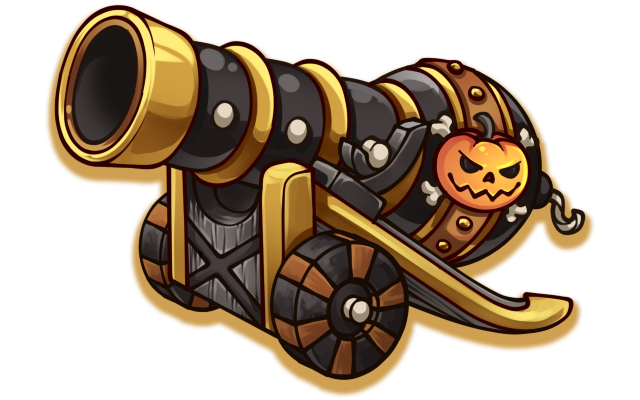 banner Cannon clipart ship. War pirate free on.