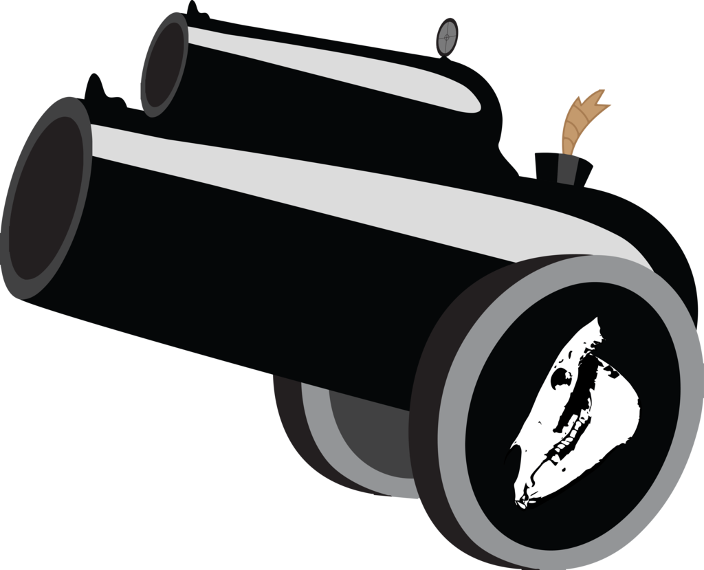 graphic free download  cartoon png for. Vector cannon transparent