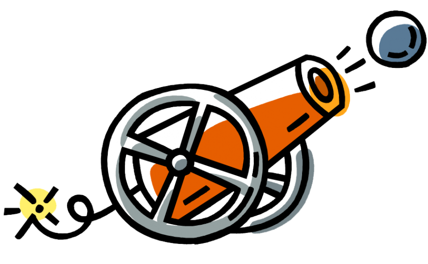 clip black and white stock Vector cannon ramadan. Collection of free cannons
