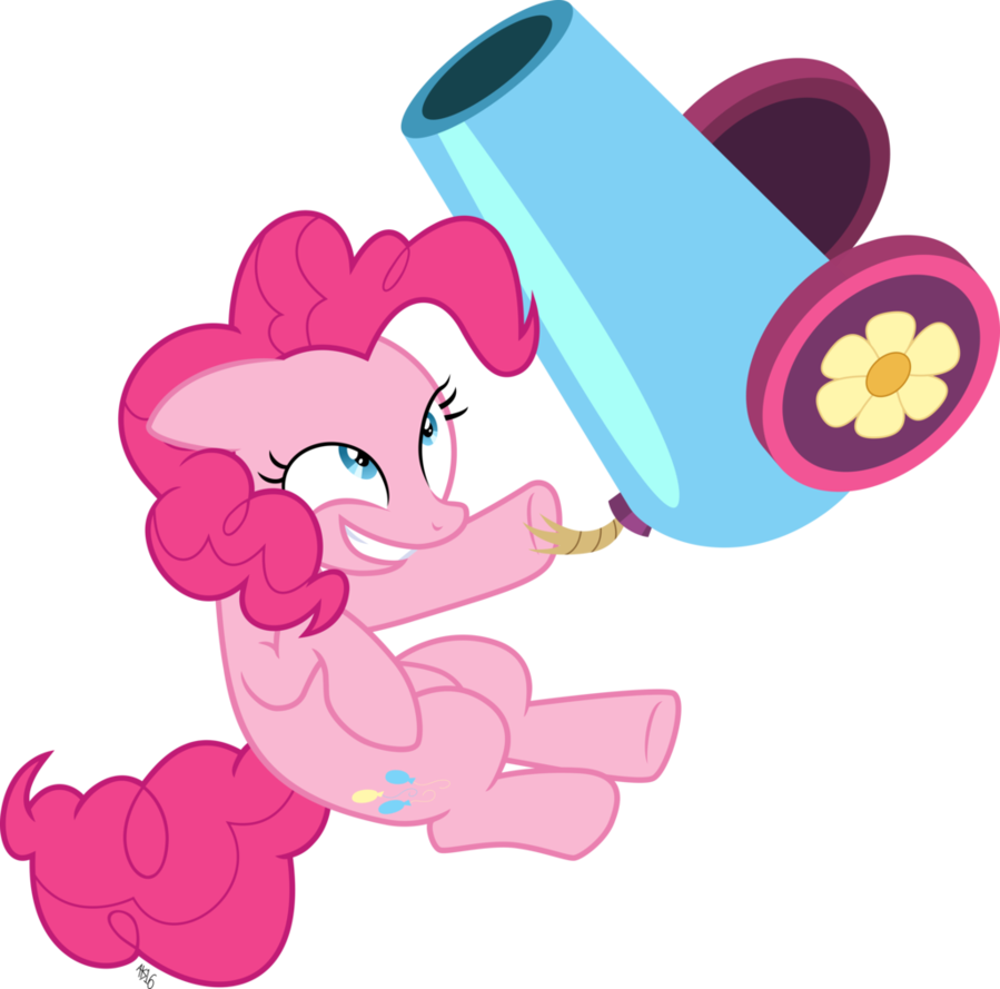 png library library Vector cannon cartoon. Pinkie jump by abadcookie