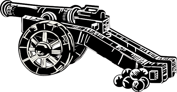 png freeuse download Clip art at clker. Vector cannon meriam