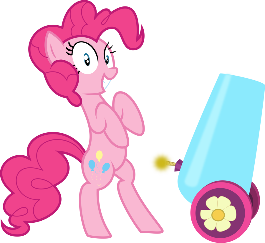 clipart transparent stock With party by mrcbleck. Vector cannon pinkie