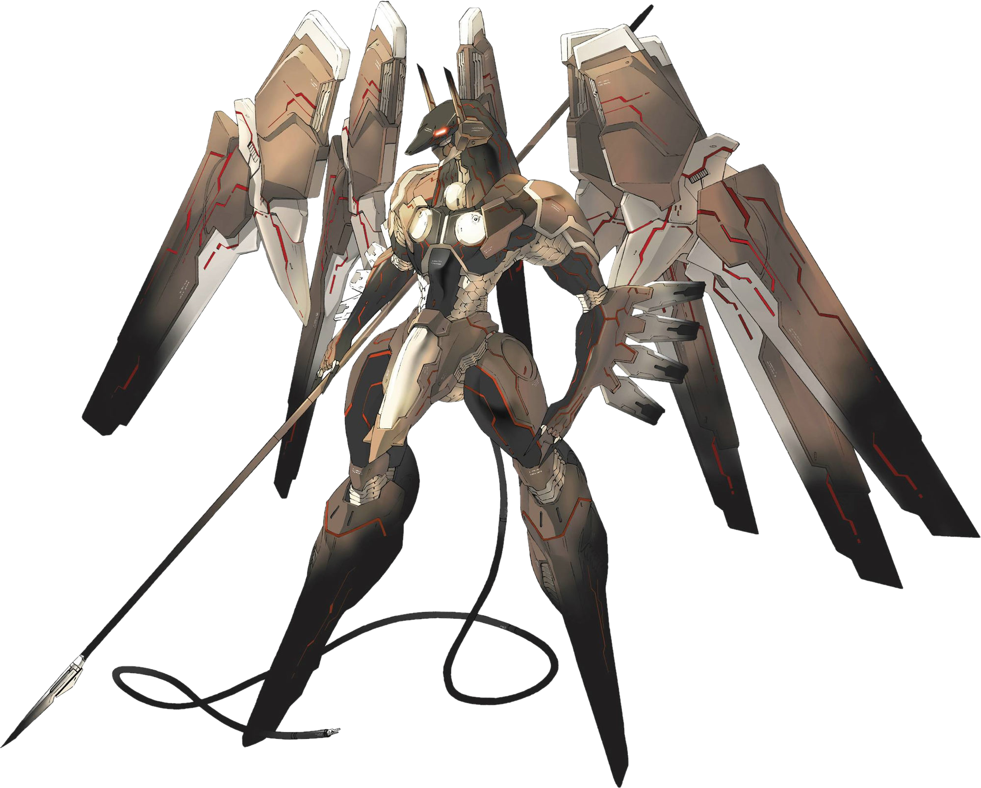 jpg library download Anubis z o e. Vector cannon zone the enders