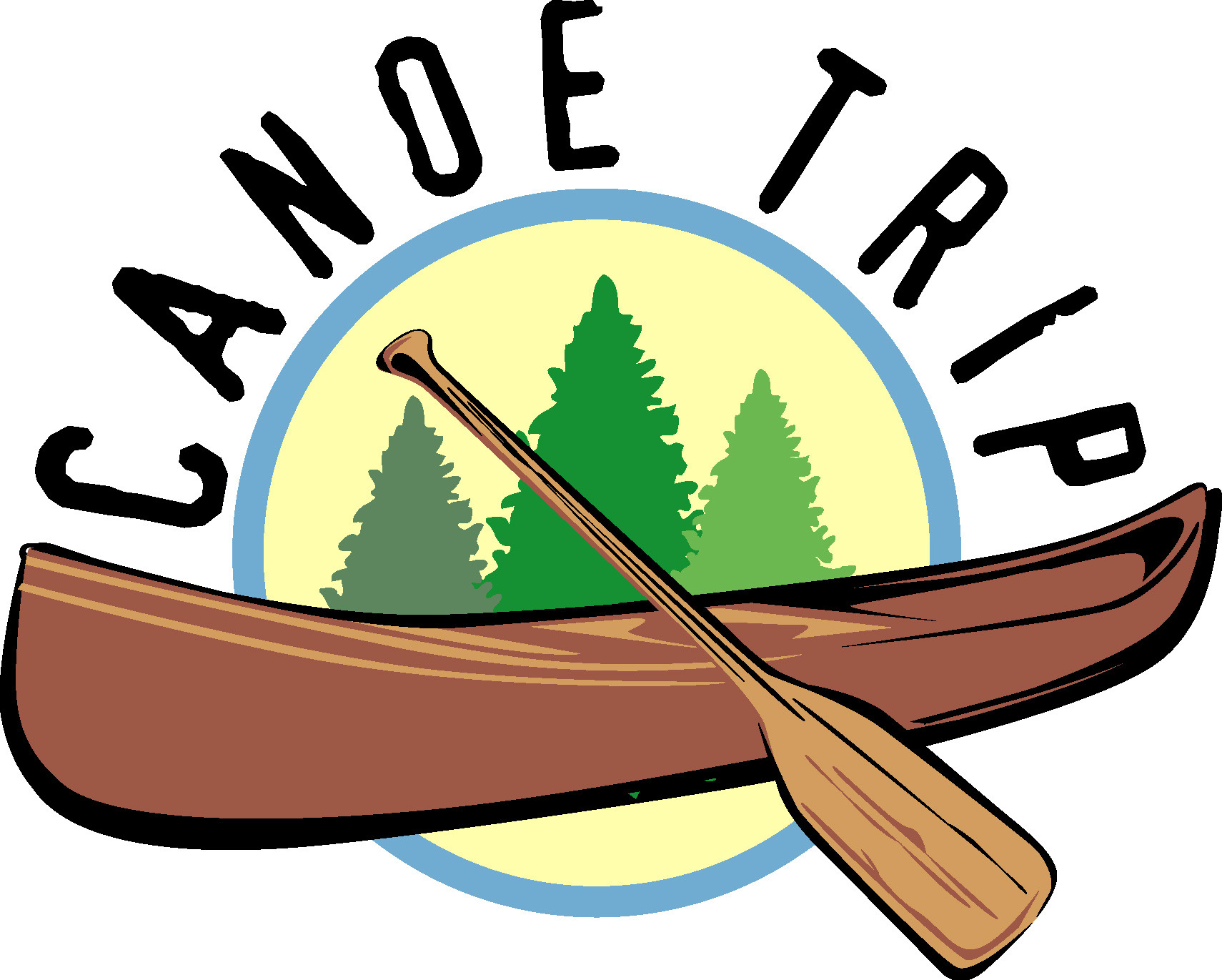 svg Canoe clipart. Free canoeing cliparts download.