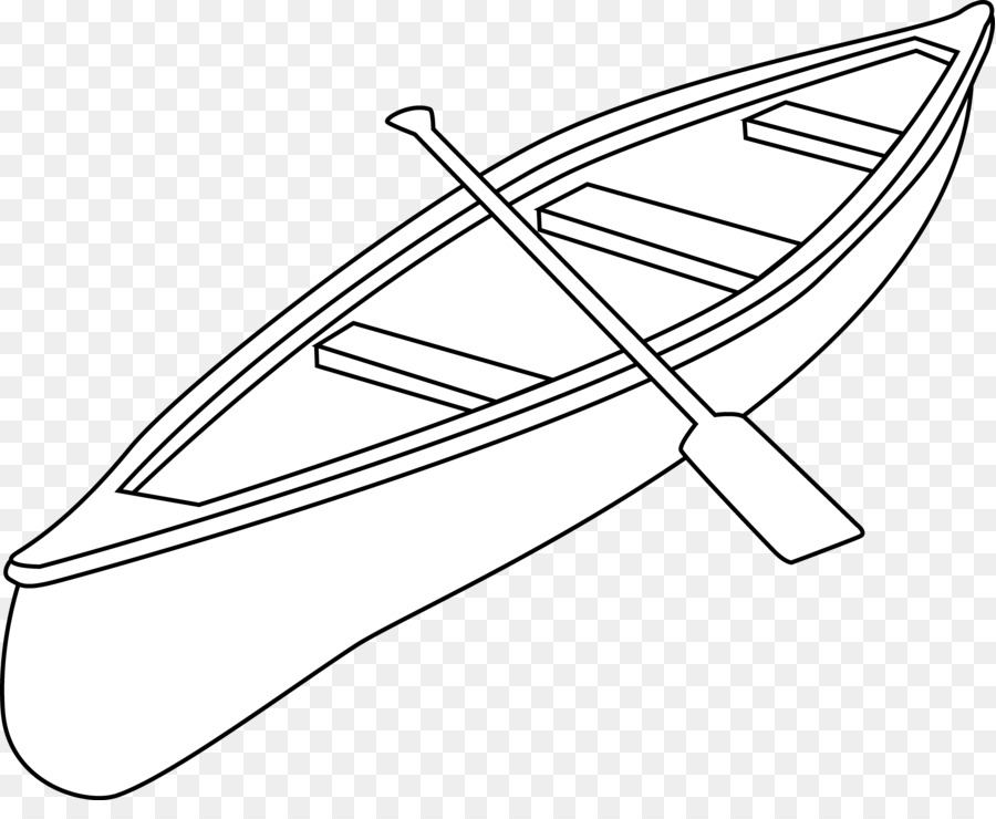 vector stock Camping drawing kayak clip. Canoe clipart black and white.