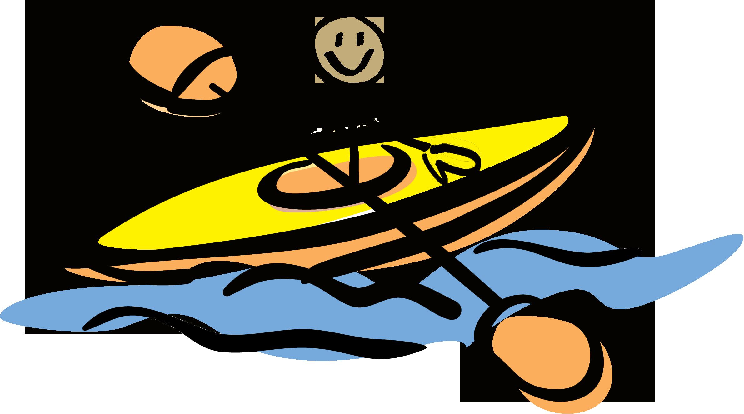 image free stock Kayak canoe race free. Kayaking clipart cartoon.