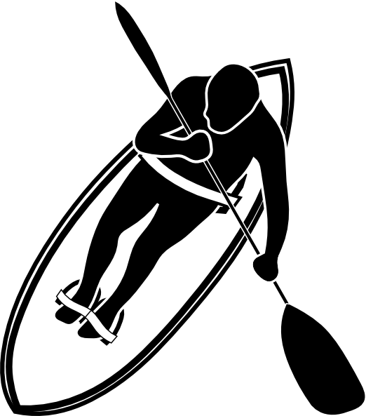 svg free library Paddle black and white. Canoe clipart ore.