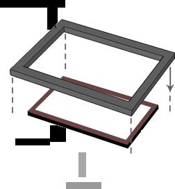 clip stock Jacksonville Canvas Floater Frames