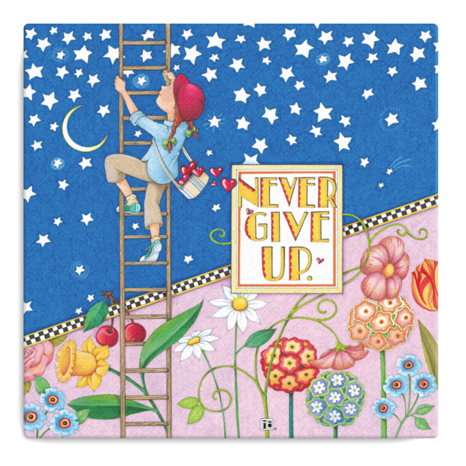clipart library stock Never Give Up