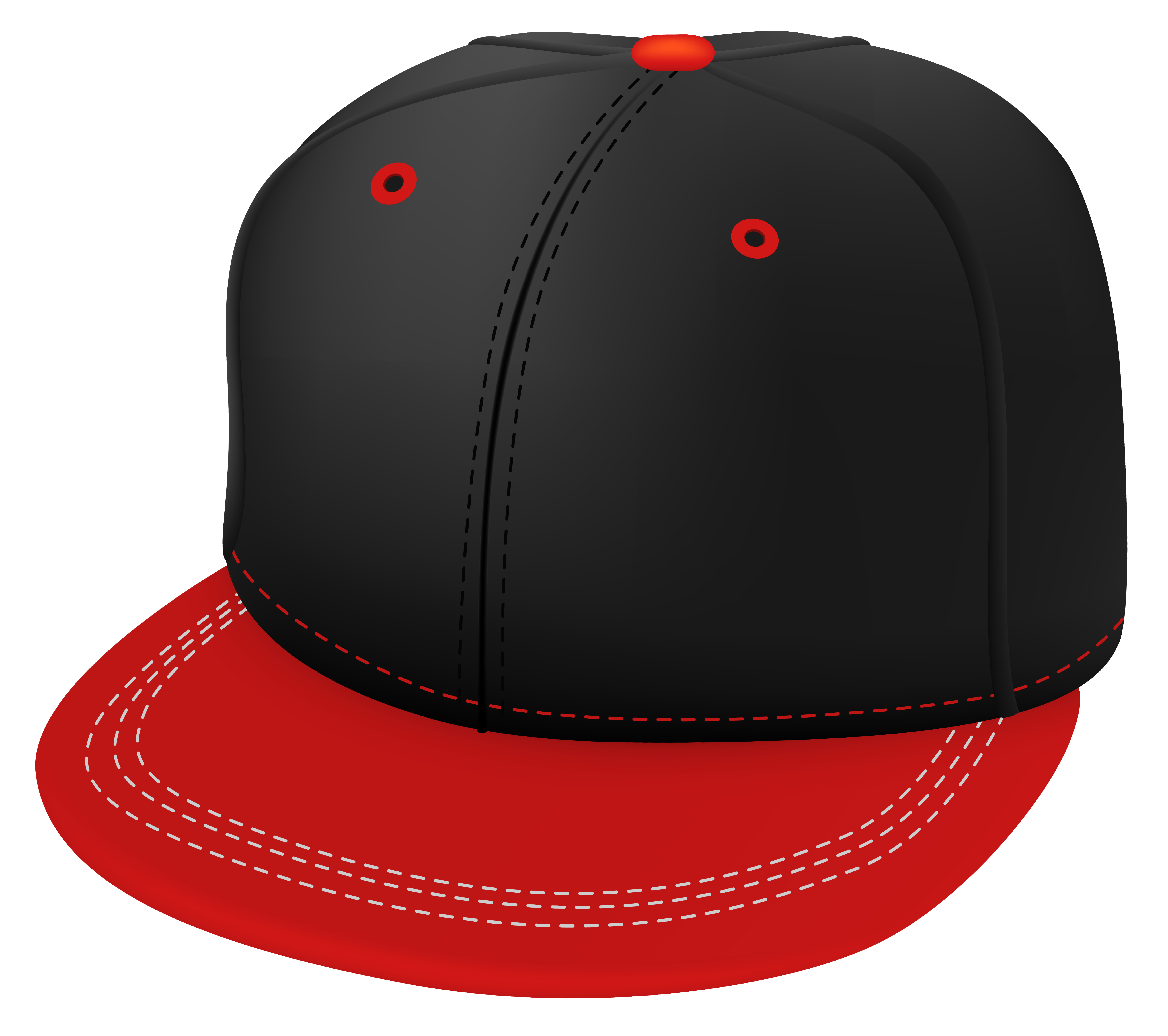 picture freeuse download Cap clipart. Red and black png