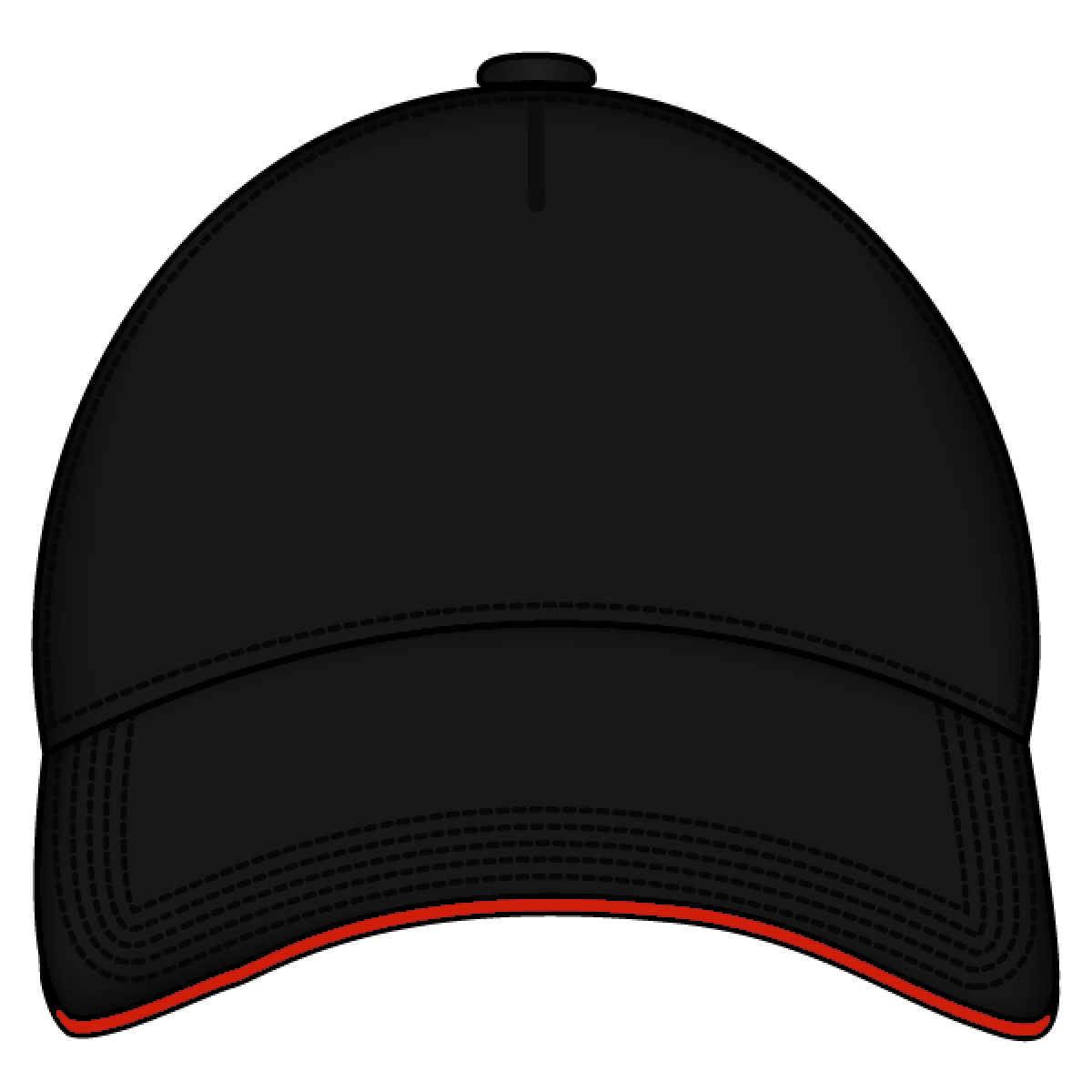 picture free download Baseball Cap Clipart template front