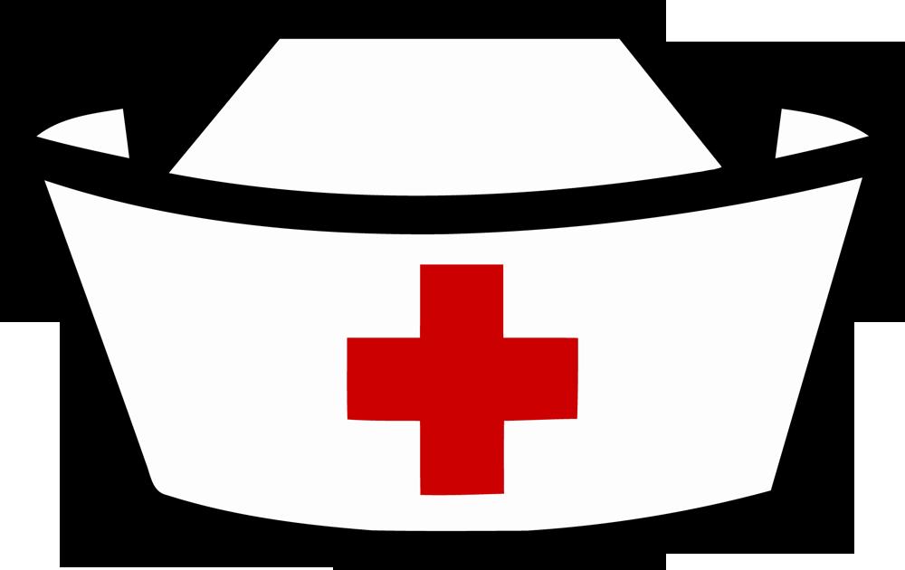 image black and white Doctors clipart hat. Picture of nurses nurse
