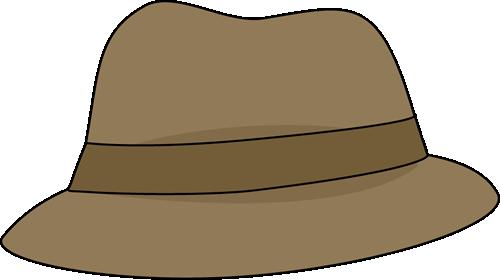 image Adventure clipart detective hat