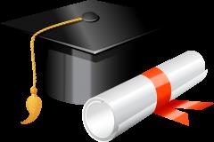 clip black and white Cap clipart education. The political left s.