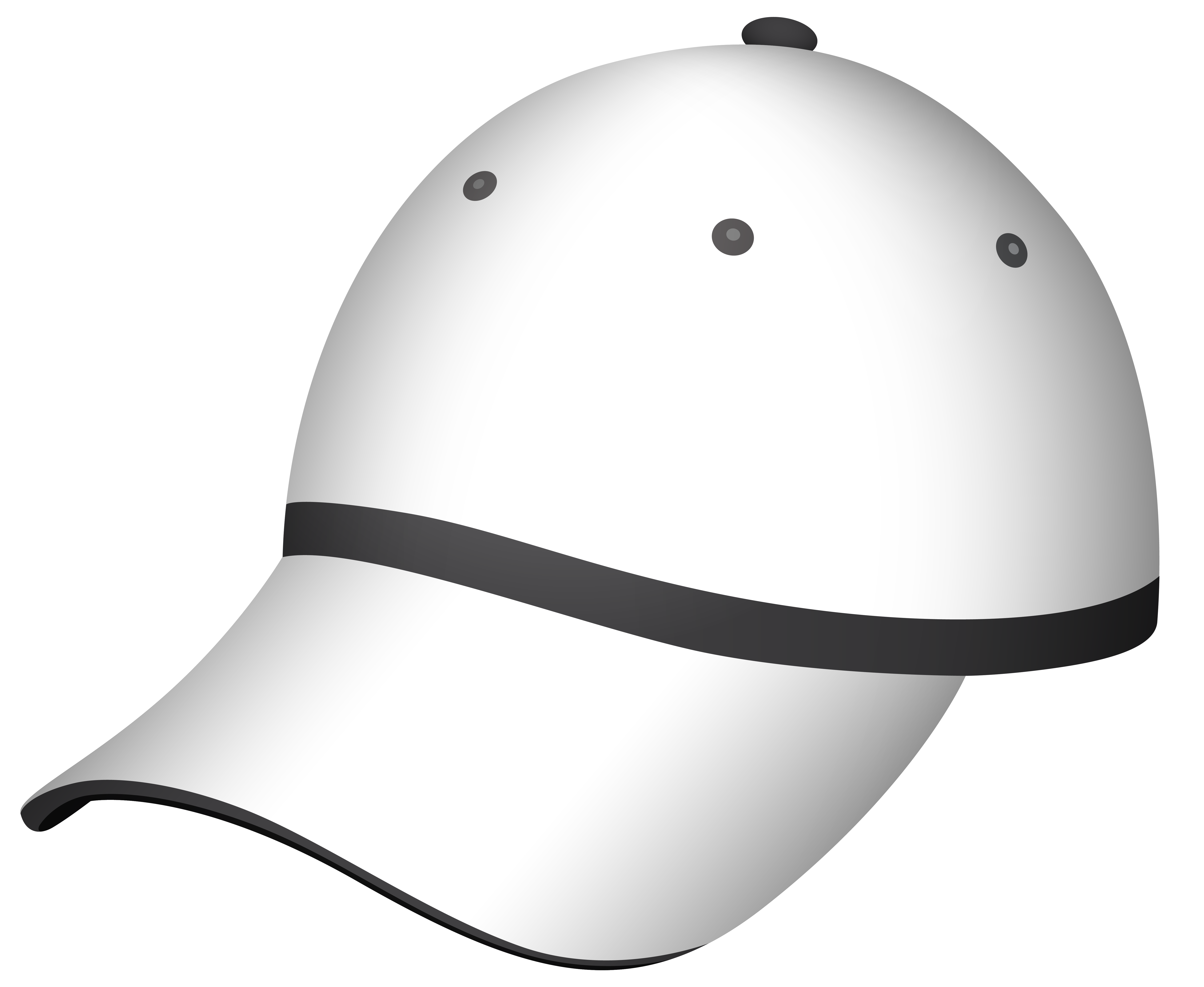 image freeuse download White gray png best. Cap clipart sports material.
