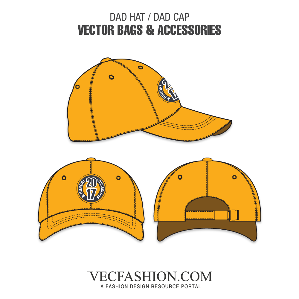 svg library download Dad Hat or Dad Cap Template